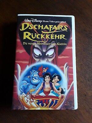 VHS Walt Disney Dschafars Rückkehr Die neuen Abenteuer von Aladdin