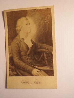Friedrich von Schiller - Kunstbild / CDV