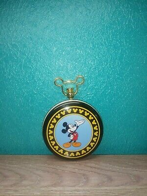 Rare Vintage VERICHRON Disney Mickey Mouse Railroad Pocket Watch Mint Condition
