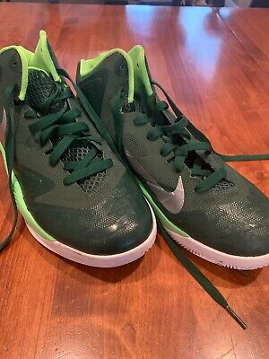 Mens Nike Green Basketball Shoes Size 8.5