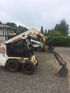 mini bobcat skidsteer