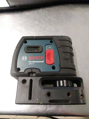 Bosch GPL-5 100Ft Professional 5-Point Self-Leveling Alignment Laser