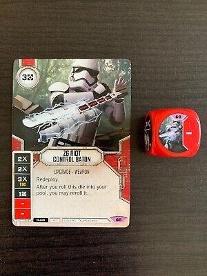 Star Wars Destiny #8 Z6 Riot Control Baton - Spirit of the Rebellion - Legendary