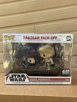 FUNKO POP! Dagobah Face-Off Star Wars Movie Moments Smugglers Bounty Protector