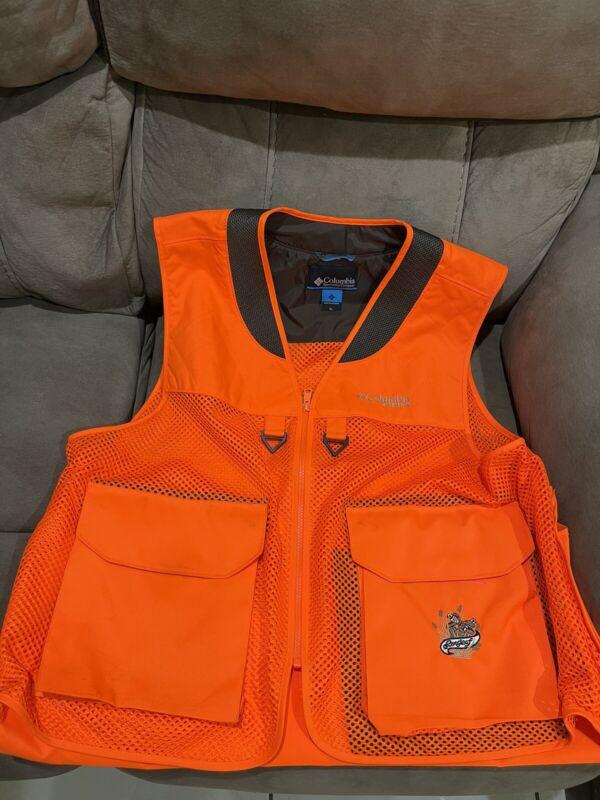 Columbia PHG Hunting Vest Orange Mens XL