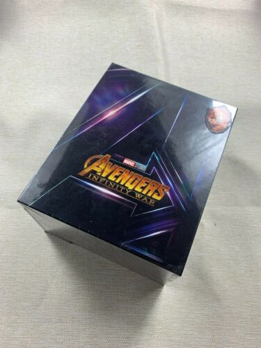 AVENGERS: INFINITY WAR BLUFANS EXCLUSIVE BLU-RAY BOXSET, NEW/SEALED