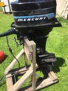 20 hp Mercury 200 1976 Tiller short shaft
