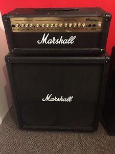 Marshall head +cabinet 4x12