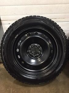 NEXEN WINGUARD WINTER TIRES ON STEEL RIMS 235-60-18