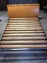 Bed, and Mattress (queen), Bedsides, Barbecue, chairs - Bundle Footscray Maribyrnong Area Preview