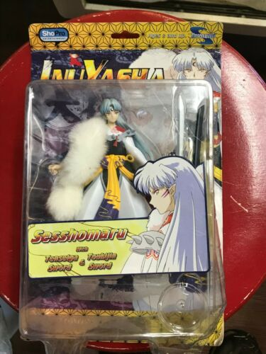Inuyasha Sesshomaru Figure by Toynami with fur Mint in package see description
