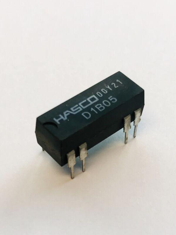 (PKG of 100) HASCO D1B05 5VC SPST-NC DIP Reed Relay