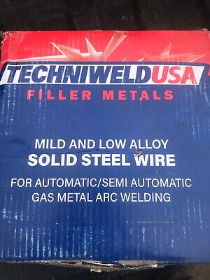 Techniweld Aws A5.18er70s-6 Mig Welding Wire 33lb Roll .035 New