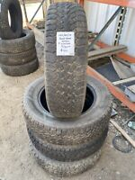 Set of 4 - 225/65/17 Goodyear Nordic Winter Tires