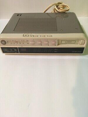 SONY Under Cabinet AM FM Radio With Cassette for Kitchen and Office
