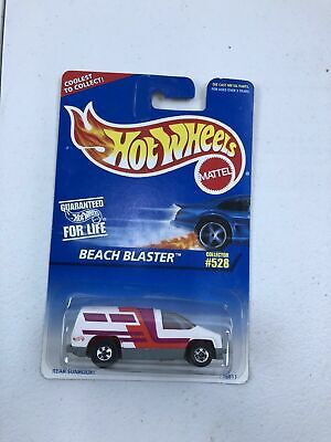 Vintage Hot Wheels Beach Blaster Van NIB Mattel NIP Collector #528 1997
