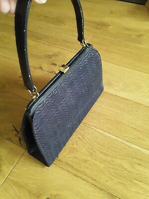 Vintage Blue Lace Kelly Bag Peter Lord