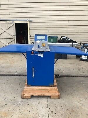 Autobox Cardboard Box Maker 1010 Series Vi Sheet Cutter 220sc Single Phase 110