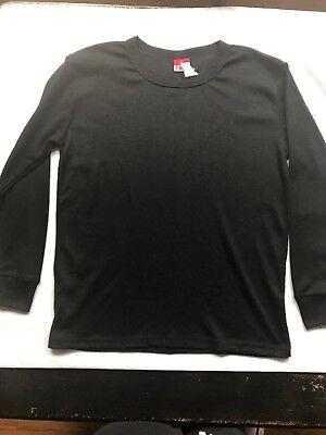 B.U.M. equipment Mens Shirt Medium Thermal Black NWT
