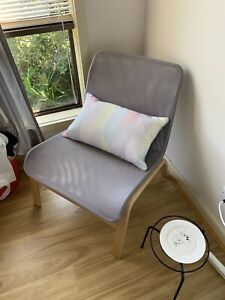 NEED GONE THIS WEEKEND Grey Corner Chair