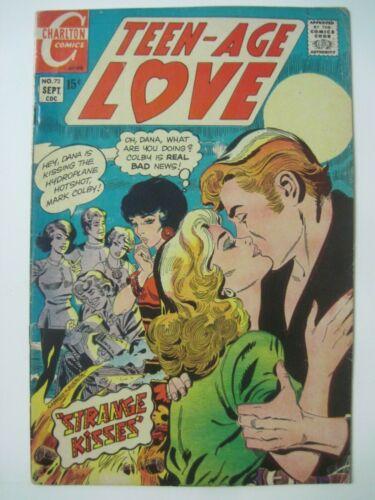 TEEN-AGE LOVE #72 September 1970 CHARLTON COMICS ROMANCE