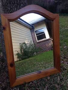 Mirror, Stained Baltic Pine Cronulla Sutherland Area Preview