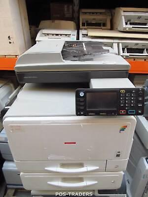 AFICIO MPC305SPF AIO MFP A4 Colour Laser Printer USB + LAN NO TEST / NO TONERS Aio Color Laser Drucker