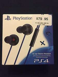 PS4 In-ear Stereo Headset Baldivis Rockingham Area Preview