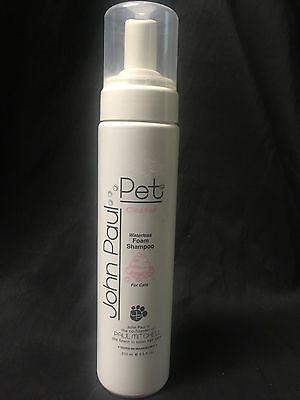 John Paul Mitchell Pet Cleanse Waterless Foam Shampoo For Cats 8.5oz John Paul Pet Cat Shampoo