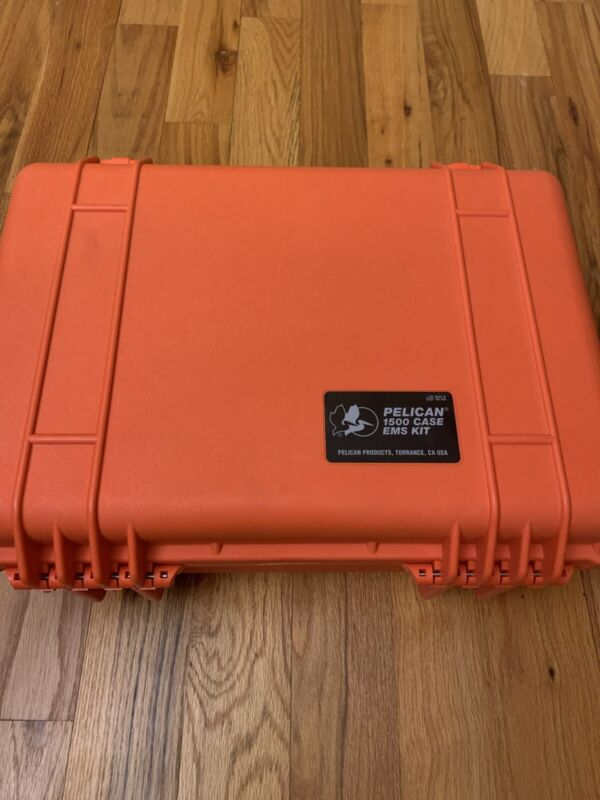 Pelican 1500 EMS Fully Loaded New Old Stock Read Description Pouches Gear Inc!