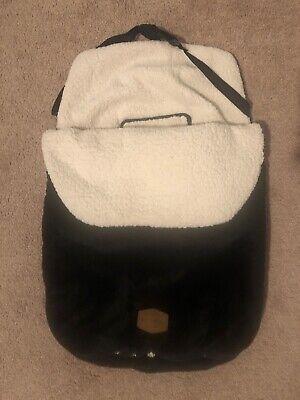 JJ Cole Original Bundleme, Canopy Style Bunting Bag, Blackout, Infant