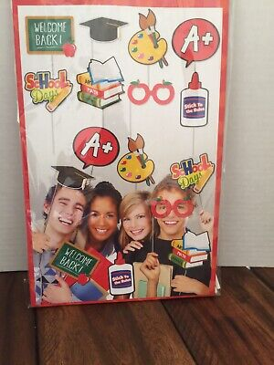 School Party Picture Props , Great Idea For Teacher's Or Class Mom. - Class Party Ideas