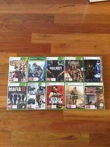10 Xbox 360 Games For Sale Brisbane City Brisbane North West Preview