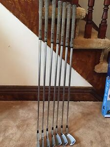 Left Handed Titleist 690MB Irons