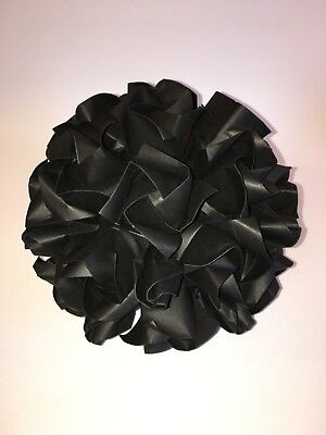 Black rose flower origami table decoration with stand for parties, funerals, etc - Funeral Party Halloween