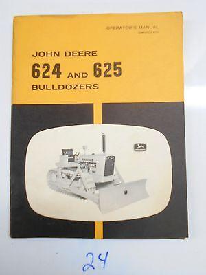 John Deere 624 625 Bulldozer Operators Owners Manual Om-u13340u