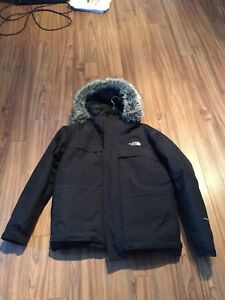 North face down filled winter coat