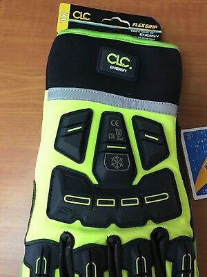 Clc Energy Flex Grip Heavy Duty Gloves Xl Nwt