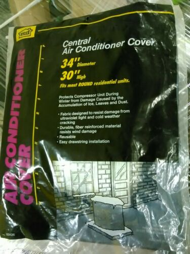 Cover Ac Outside Round 34x30in