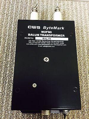 BALUN 1:1.5. Input 50 ohms unbalanced to output 75 ohms balanced. W2FMI Balun.