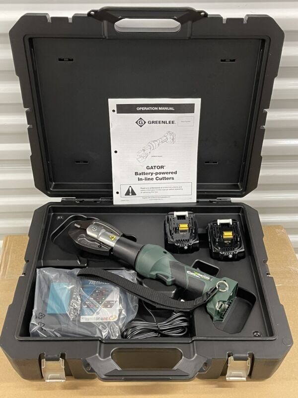 Greenlee Gator EK628LX 18-Volt Lithium Ion Cordless Cable Cutter 6-Ton Tool