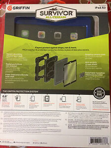 Griffin Survivor iPad Air Case new in package  London Ontario image 2