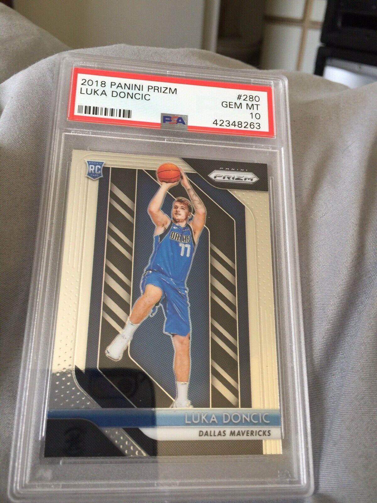 Repack 2018-19 Luka Doncic Prizm PSA 10 NBA Basketball Cards Hot