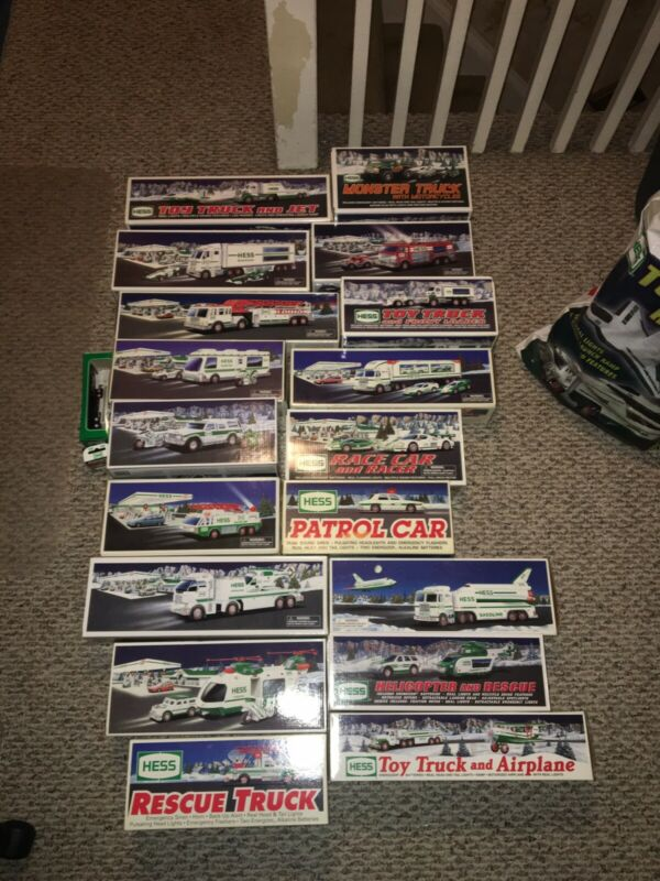 Hess Truck Holiday Collection (1993 -2012) In boxes, excellent condition