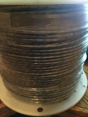 J Type Thermocouple Wire 16 Gauge Pfa Coated Wire With 304ss Overbraid 1000 Ft