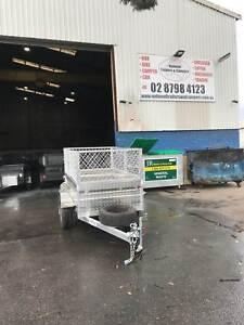 7x4 Aluminium Box trailer 600 mm cage - 1 YEAR REGO & SPARE WHEEL Smithfield Parramatta Area Preview