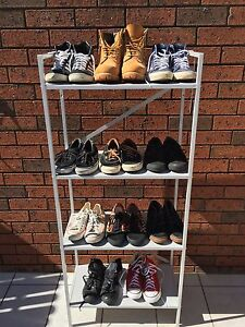 11 pairs men's shoes, Sz7-7.5. Timberland/adidas/vans/converse/Nike Earlwood Canterbury Area Preview