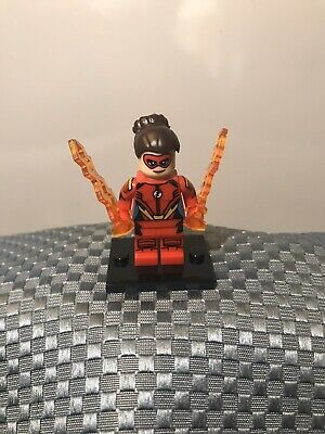 DC Custom Superhero Jessie Quick CW Show Flash Minifigure ARRIVES IN 2-4 DAYS