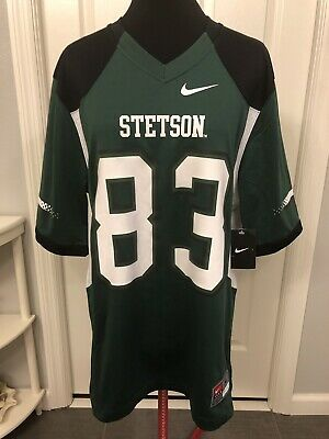 - NWT Stetson Hatters NIKE Football Jersey #83 NCAA College Replica Men's M Green