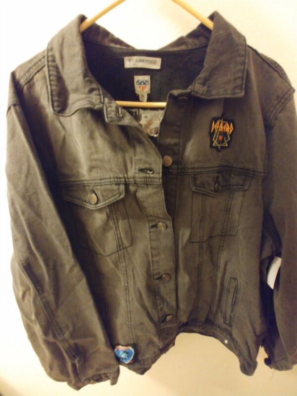 Def Leppard Denim Jacket Size XL